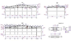 Металлоконструкции крыши