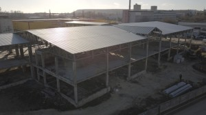 Строительство объекта по состоянию на 12.12.2017г 1