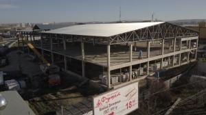 Строительство объекта по состоянию на 12.12.2017г 2