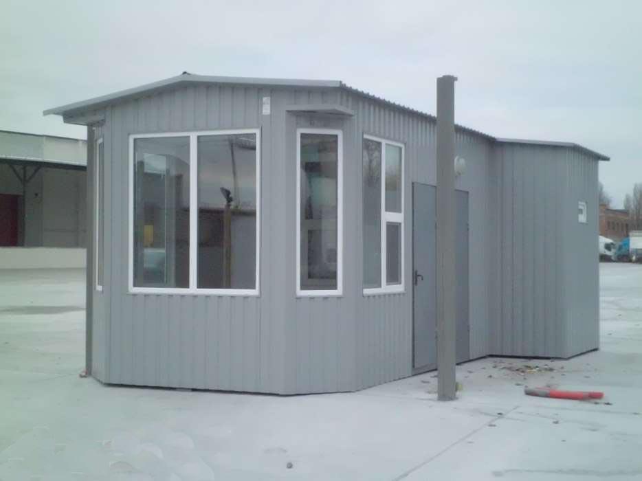 Оперативное строительство мобильных мини-офисов